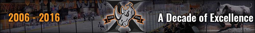 Rhinos Anniversary