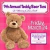 9th Annual Teddy Bear Toss